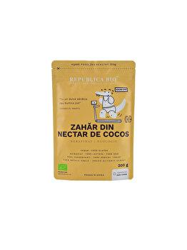 Zahar din nectar de cocos ecologic pur Republica BIO, 200 g de la Republica Bio