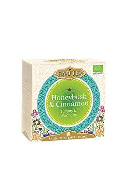 Ceai premium tummy in harmony Hari Tea honeybush si scortisoara bio, 10 dz
