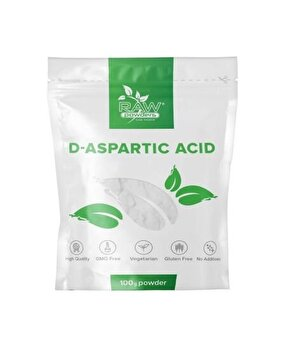 Raw Powders D-Acid Aspartic pulbere 100 grame Raw Powders