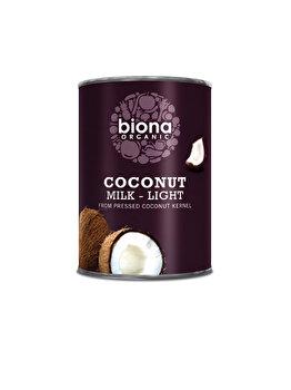 Lapte de cocos Biona bio, light 400 ml