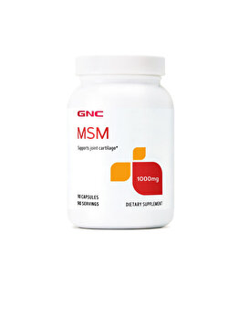 Supliment Alimentar GNC MSM 1000 mg, 90 cps