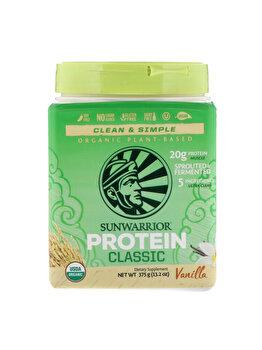 Proteina vegana Sunwarrior Protein Classic Vanilla 375g de la Sunwarrior