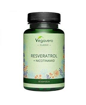 Vegavero Resveratrol + Nicotinamid 60 Capsule Vegavero