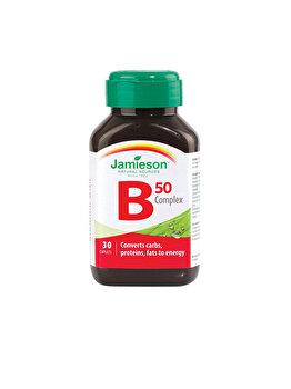 Supliment alimentar pentru energie Jamieson b complex 50mg 30 comprimate de la Jamieson