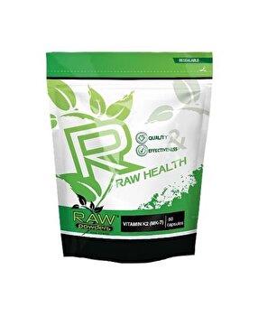 Raw Powders Vitamina K2 (MK-7) 500 mcg 60 Capsule de la Raw Powders