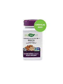 Supliment alimentar Nature's Way by Secom Maca SE 60 capsule vegetale Nature's Way by Secom