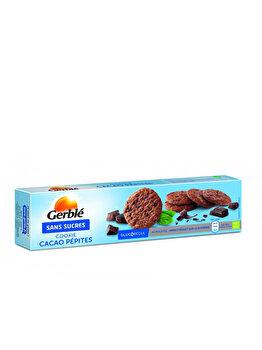 Cookie ciocolata cacao fara zahar Glucoregul 130g de la Glucoregul
