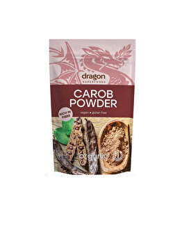 Pudra carob Dragon Superfoods eco 200g de la Dragon Superfoods