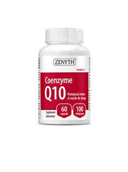 Supliment alimentar pentru sănătatea inimii și prevenirea îmbătrânirii Zenyth Coenzyme Q10 60 capsule x100 mg de la Zenyth