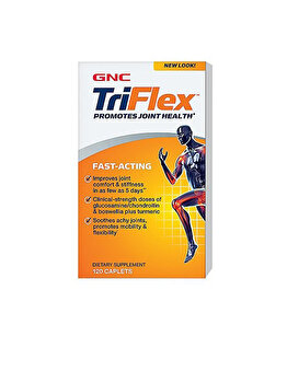 Supliment alimentar GNC TriFlex™ Fast-Acting, Formula Pentru Sanatatea Articulatiilor, 120 tb