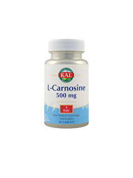 Supliment alimentar KAL by Secom L-Carnosine 500mg 30 tablete ActivTab de la KAL by Secom