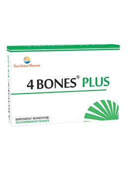 Supliment alimentar Sun Wave Pharma 4 Bones Plus, 30 capsule de la Sun Wave Pharma