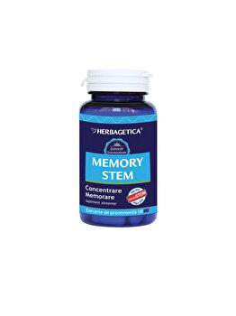 Supliment alimentar Herbagetica Memory Stem 30 capsule