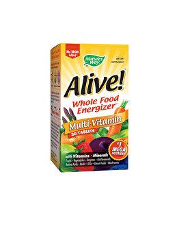 Supliment alimentar Nature's Way by Secom Alive! (fara fier adaugat) 30 tablete de la Nature's Way by Secom