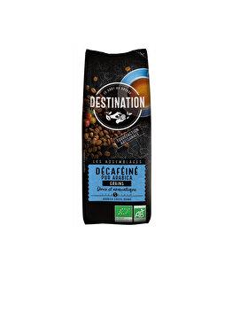 Cafea boabe pur arabica decafeinizata Eco Destination 250g