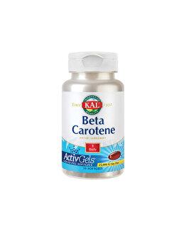 Supliment alimentar KAL by Secom Beta Carotene 25000UI 50 capsule moi de la KAL by Secom