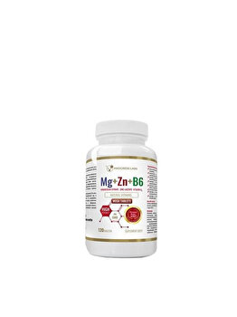 Progress Labs Mg+Zn+Vit B6 120 Tablete de la Progress Labs