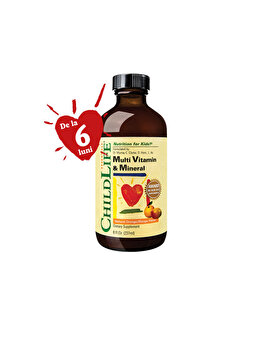 Supliment alimentar ChildLife Essential by Secom Multi Vitamin & Mineral 237ml