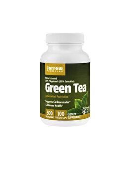 Supliment alimentar Jarrow Formulas by Secom Green Tea 500mg 100 capsule vegetale de la Jarrow Formulas by Secom