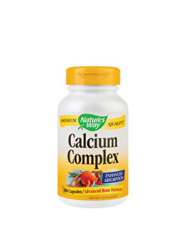 Supliment alimentar Nature's Way by Secom Calcium Complex Bone Formula 100 capsule de la Nature's Way by Secom
