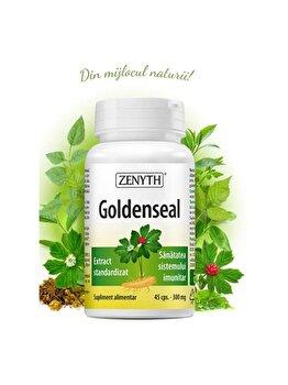 Supliment alimentar pentru sănătatea sistemului imunitar Zenyth Goldenseal 45 capsule x 300 mg de la Zenyth