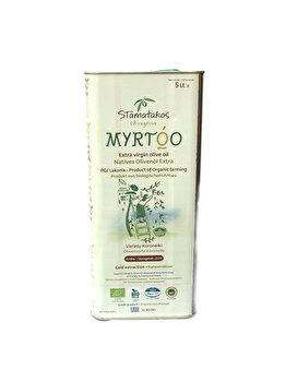 Ulei de masline extravirgin Stamatakos Olivegrove myrtoo bio, 5 L