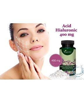 Vegavero Acid Hialuronic, 400mg, 60 Capsule Vegavero