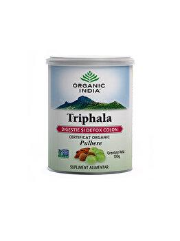 Organic India Triphala Pudra 100g de la ORGANIC INDIA