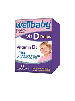 Supliment alimentar Vitabiotics Wellbaby Vitamina D picaturi 30 ml de la Vitabiotics