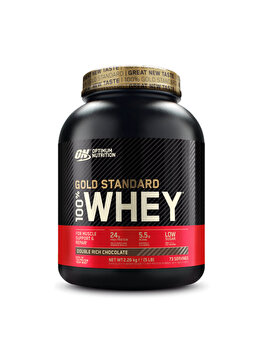 100% Proteina din zer Optimum Nutrition Whey Gold Standard Double Rich Chocolate 2260g de la Optimum Nutrition
