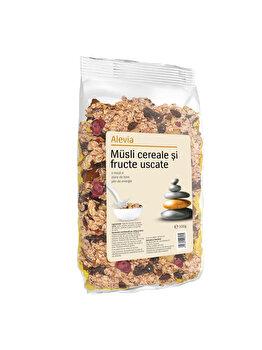 Musli cereale si fructe uscate Alevia 500 g de la Alevia