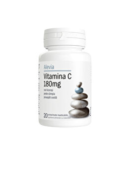 Vitamina C 180mg Alevia 20 comprimate poza