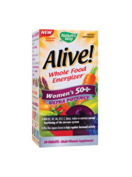 Supliment alimentar Nature's Way by Secom Alive! Women???s 50+ Ultra 30 tablete filmate Nature's Way by Secom