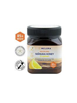 Miere de Manuka MELORA poliflora cu lamaie MGO 85+ 375 g naturala de la MANUKA MELORA