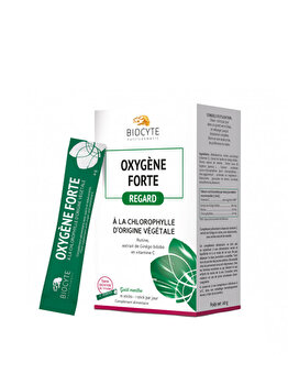 Supliment alimentar Biocyte Oxigen forte vegetal, 15 plicuri de la BYOCYTE