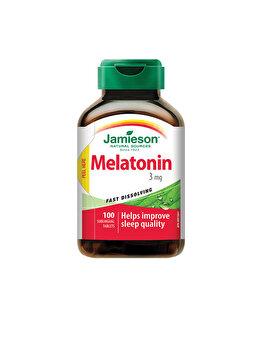 Supliment alimentar pentru calitatea somnului Jamieson melatonina 3mg 100 comprimate