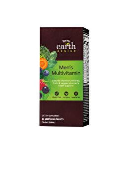 Supliment Alimentar GNC Earth Genius™ Men's Multivitamin, Complex de Multivitamine pentru Barbati, 60 tb de la GNC