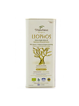 Ulei de masline extravergin Stamatakos Olivegrove liophos bio, 5 L