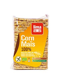 Rondele din porumb expandat Lima bio fara gluten, 140 g de la Lima