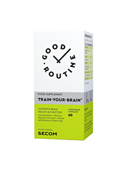 Supliment alimentar Good Routine by Secom Train Your Brain 60 capsule Good Routine