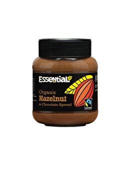 Crema tartinabila cu alune de padure Essential ciocolata fairtrade bio, 400 g