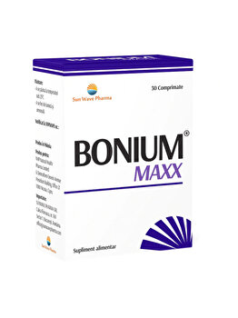 Supliment alimentar Sun Wave Pharma Bonium Maxx, 30 capsule de la Sun Wave Pharma