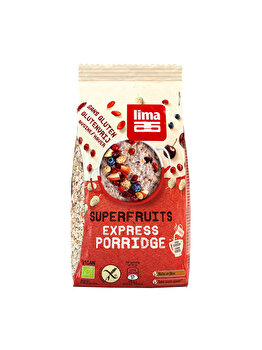 Porridge express Lima cu superfructe bio fara gluten, 350 g de la Lima