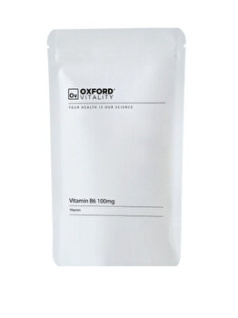 Supliment alimentar Oxford Vitality Vitamina B6 100 mg, 500 tablete de la Oxford Vitality