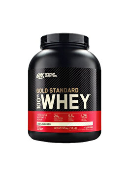 100% Proteina din zer Optimum Nutrition Whey Gold Standard Unflavoured 2260g de la Optimum Nutrition