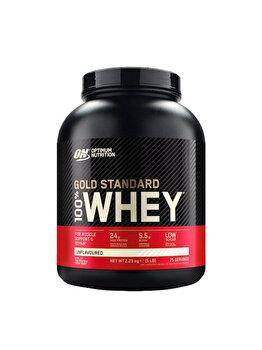 Imagine 100 Proteina Din Zer Optimum Nutrition Whey Gold Standard Unflavoured