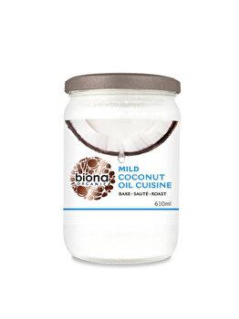 Ulei de cocos dezodorizat Biona pentru gatit bio, 610 g de la Biona