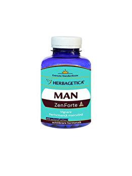 Supliment alimentar Herbagetica Man Zen forte 60 capsule Herbagetica