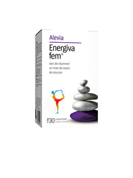 Energiva fem Alevia 30 comprimate de la Alevia