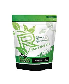 Raw Powders Betaina HCL 650 mg 120 capsule